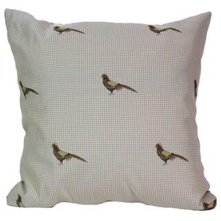 Pheasant Tan 16-Inch Square Pillow