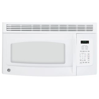 GE Spacemaker Over-the-Range White Microwave Oven