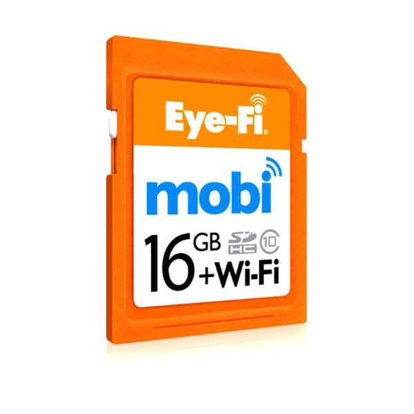 Eye-Fi Mobi 16GB SDHC Class 10 Wireless Memory Card