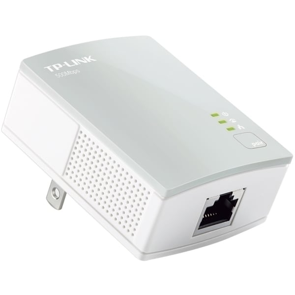 TP-LINK TL-PA4010 AV500 Nano Powerline Adapter, Up to 500Mbps, Plug a