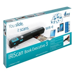 I.R.I.S IRIScan Book 3 Executive Handheld Scanner - 900 dpi Optical
