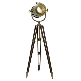 Director's Spotlight 6-feet Decorative Tripod Floor Lamp