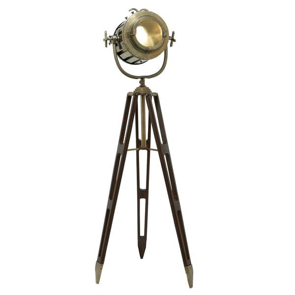 Director's Spotlight 6-feet Decorative Tripod Floor Lamp