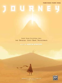 Journey Sheet Music Selections from the Original Video Game Soundtrack: Piano Solos / Piano / Vocal (Paperback)