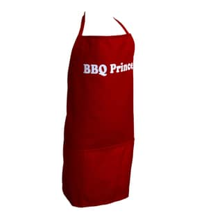 Boys Red BBQ Prince Apron