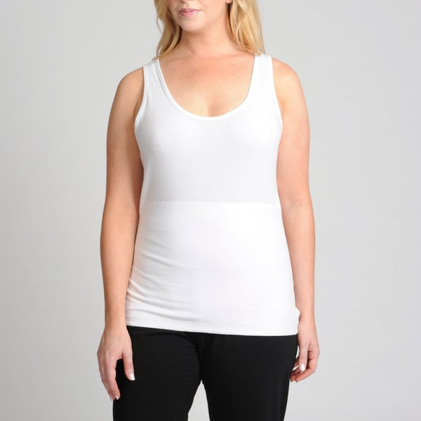 Teez-Her Women's Plus Size Secret Shaper Tank