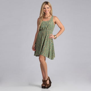 Just Funky Women's Floral Printed Dress