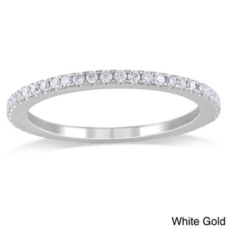 Miadora 14k Gold 1/2ct TDW Thin Diamond Wedding Band (G-H, I1-I2)