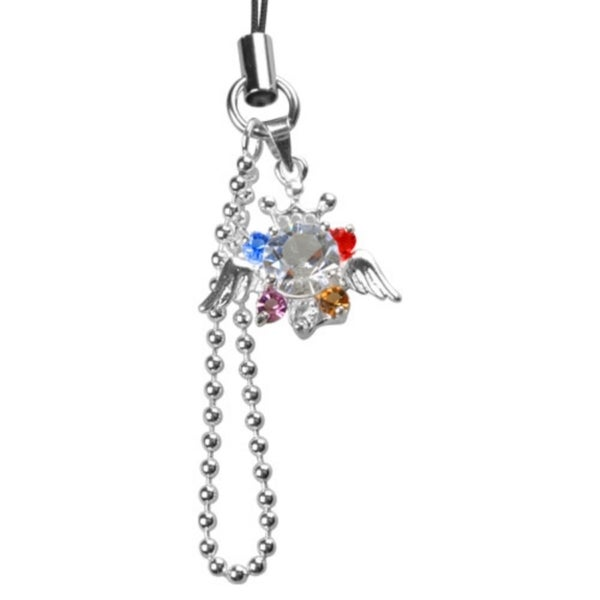 INSTEN Wing Cell Phone Charm