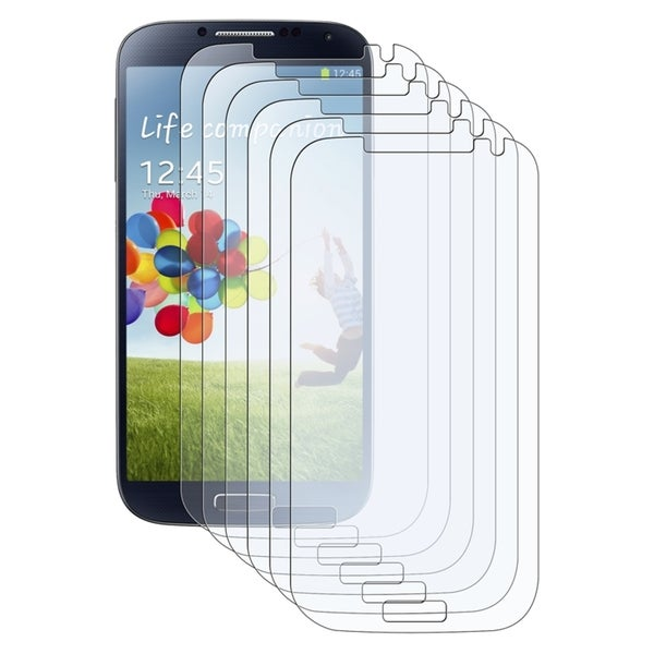 INSTEN Anti-glare Screen Protector for Samsung Galaxy S IV/ S4 i9500 (Pack of 6)
