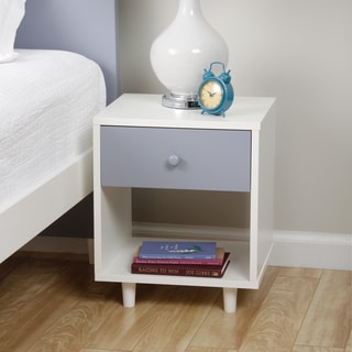 Beckham Grey Nightstand