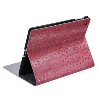 BasAcc Red Peacock Feather Tray-Style Case for Apple iPad 2