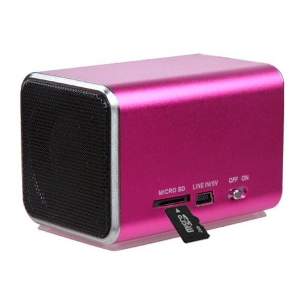INSTEN Hot Pink Speakers for PC/ MP3 Player/ Cell Phone 11184137
