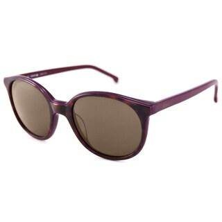Lacoste Women's L601S Round Sunglasses