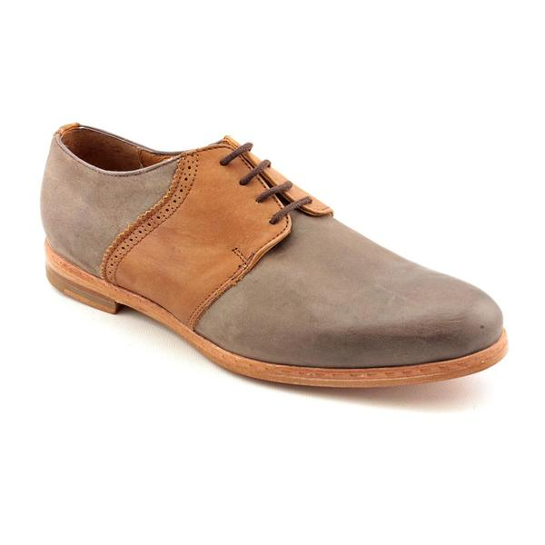 J.D.Fisk Men's 'Mosimo' Leather Casual Shoes