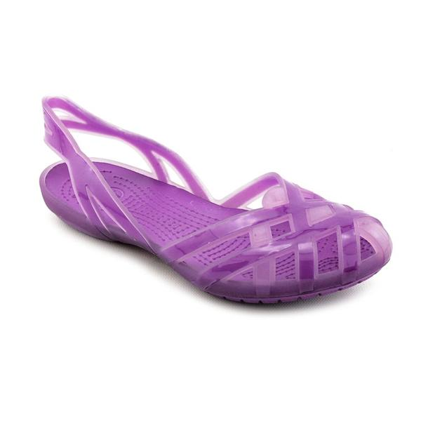 Crocs Girls 'Huarache Slingback Flat' Synthetic Sandals