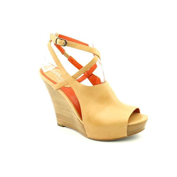 Maria Sharapova by Cole Haan Women's 'Air Gilda.Ot.Wedge' Leather Sandals (Size 10 )