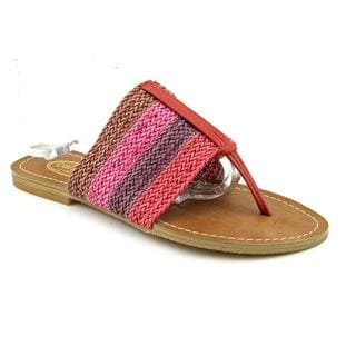 Callisto Women's 'Ralphie' Man-Made Sandals (Size 8 )