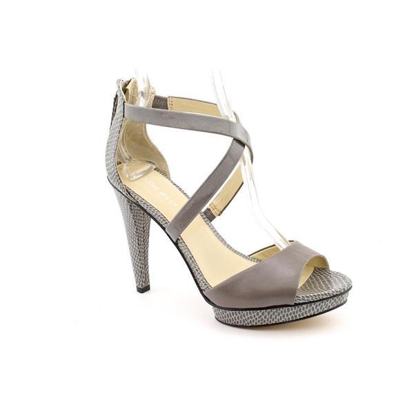 Nine West Women's 'SkyScrapn' Gray Faux Leather Dress Shoes