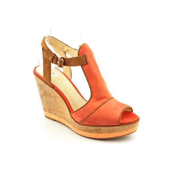 Enzo Angiolini Women's 'Gesso' Regular Suede Sandals (Size 6 )