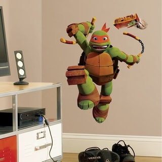 Teenage Mutant Ninja Turtles Mike Peel & Stick Giant Wall Decals