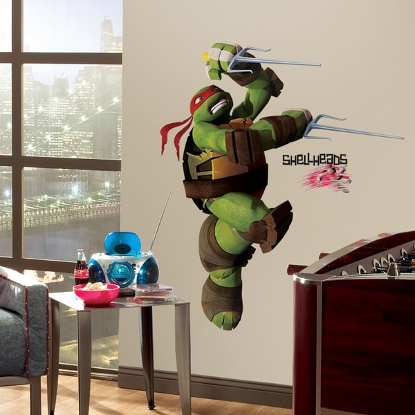 Teenage Mutant Ninja Turtles Raph Peel & Stick Giant Wall Decals 11187617