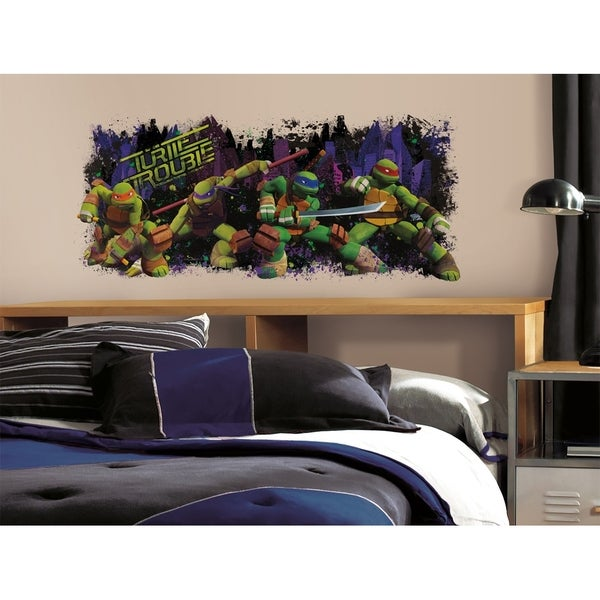 Teenage Mutant Ninja Turtle Trouble Graphix Peel & Stick Wall Decal 11187796