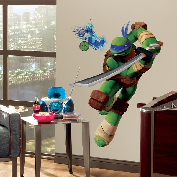 Teenage Mutant Ninja Turtles Leo Peel & Stick Giant Wall Decals 11188120