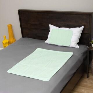 The Original Cool Slumber Gel Pillow Pad and Medium Mattress Pad 2-piece Set
