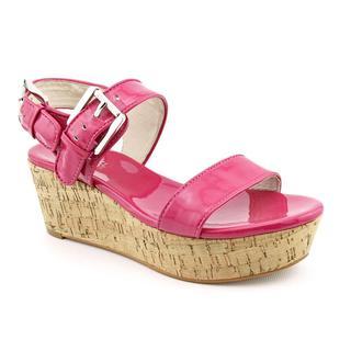Michael Kors Women's 'Kelsie Mid Wedge' Patent Leather Dress Shoes