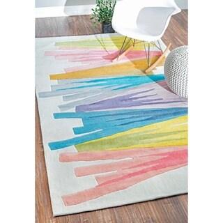 nuLOOM Handmade Kids Multi Rug (7'6 x 9'6)
