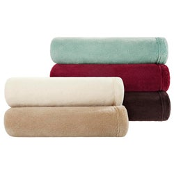 Premier Comfort Microtec Plush Throw