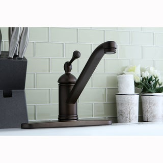 Oil Rubbed Bronze Kitchen Faucet