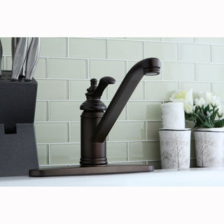 Oil-Rubbed Bronze Solid-Brass Kitchen Faucet