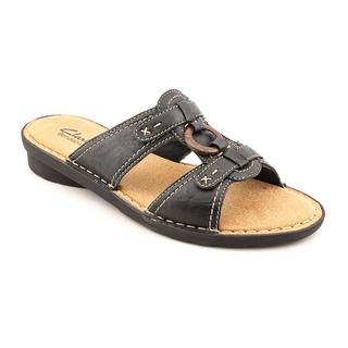 Clarks Women's 'Nikki Peridot' Leather Sandals
