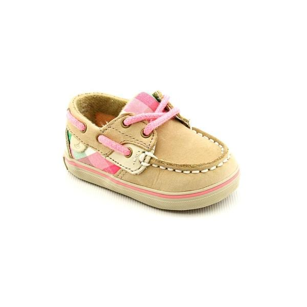 Sperry Top Sider Infant Girls 'Bluefish Crib' Leather Casual Shoes
