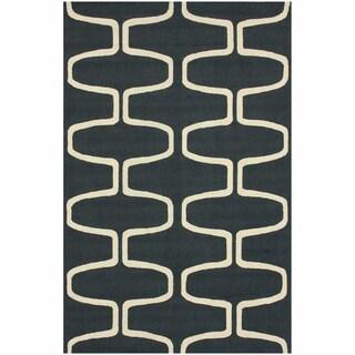 nuLOOM Hand-hooked Moroccan Trellis Wool Rug (8'6 x 11'6)