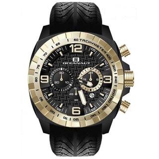 Oceanaut Men's Fair-Play Silicon Strap Quartz Chronograph Watch