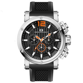 Oceanaut Men's Loyal Silicone Bracelet Chronograph Watch