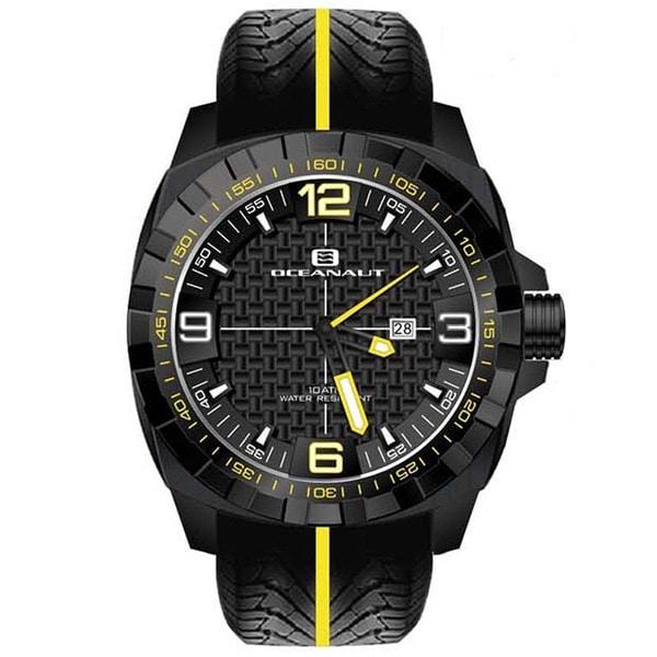 Oceanaut Men's Fair-Play Black Watch