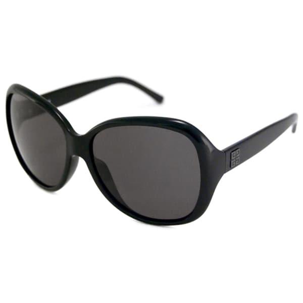 Givenchy Women's SGV764 Polarized/ Rectangular Sunglasses