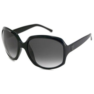 Givenchy Women's SGV765 Plastic Rectangular Sunglasses