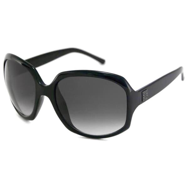 Givenchy Women's SGV765 Plastic Rectangular Sunglasses