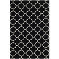 Safavieh Chatham Black Handmade Moroccan Contemporary Wool Rug (4' x 6')