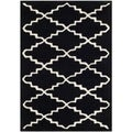 Safavieh Handmade Moroccan Black-and-White Wool Rug (2' x 3')