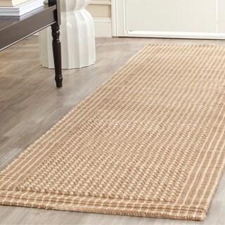 Safavieh Handwoven Natural Fiber Loop Jute Beige Rug (2' 6 x 14')