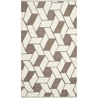 Thom Filicia Hand-woven Indoor/ Outdoor Saddle Plastic Rug (3' x 5')