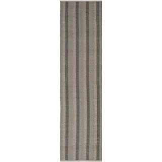 Thom Filicia Hand-woven Indoor/ Outdoor Barley Plastic Rug (2' x 8')