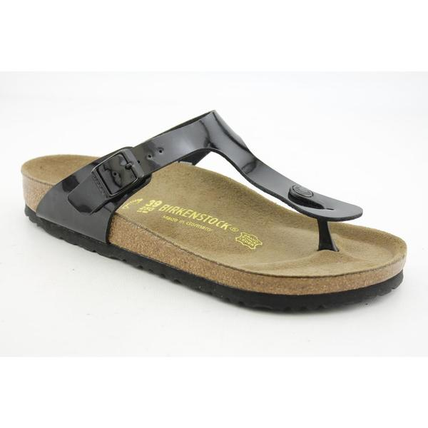 Birkenstock Women's 'Gizeh' Patent Sandals (Size 9 )