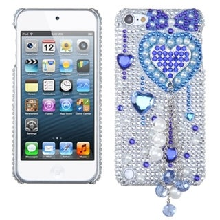 BasAcc Blue Heart Chain Case for Apple iPod Touch 5th Generation